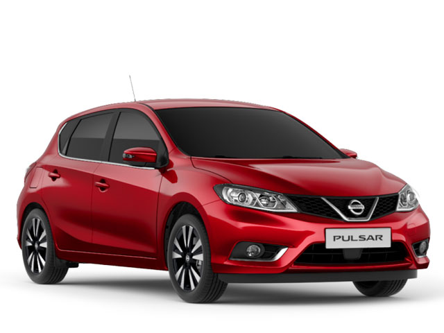 Rent a Nissan Pulsar Automatic in Lefkada