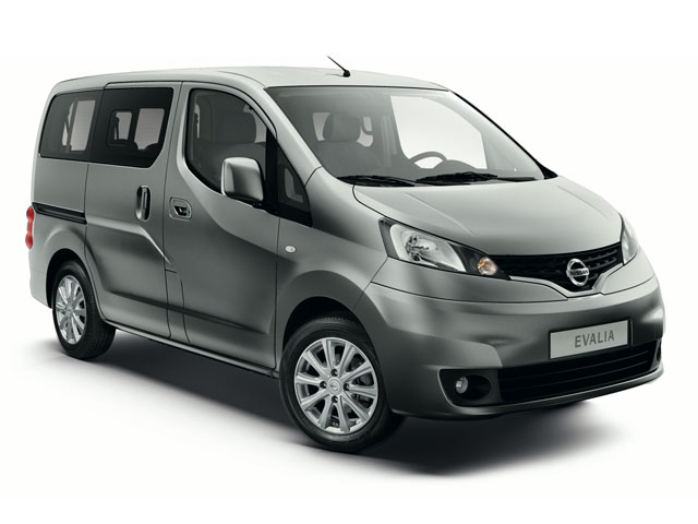 Rent a Nissan Evalia in Lefkada