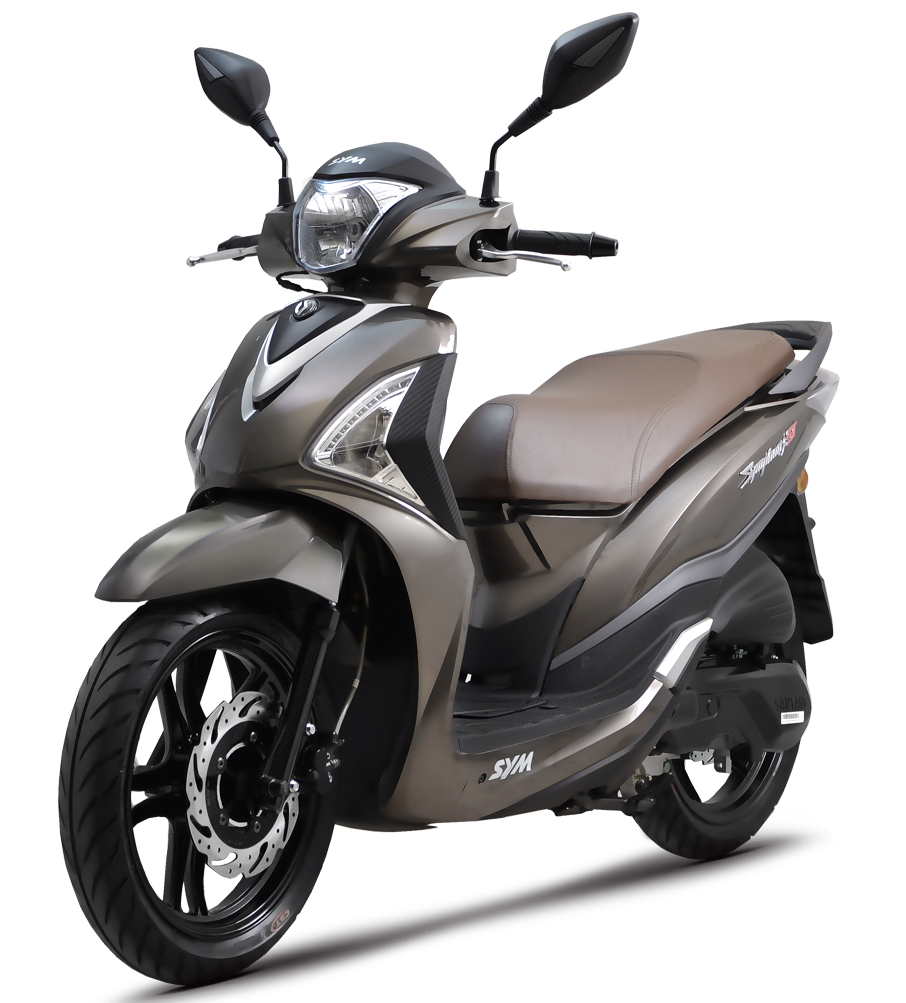 Rent a Sym ST 200i ABS in Lefkada