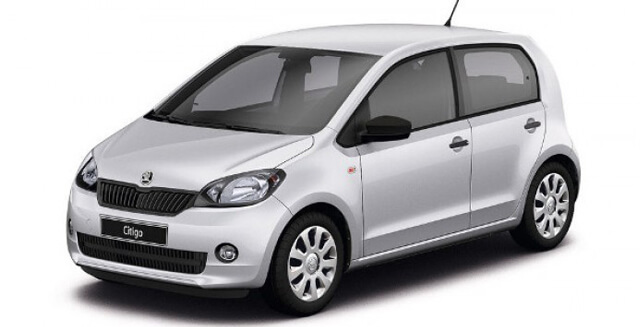 Rent a Skoda Citigo in Lefkada