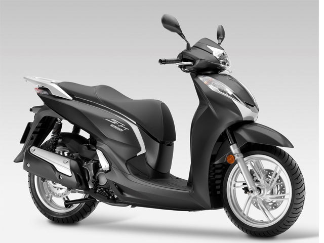Rent a Honda SH300i ABS in Lefkada